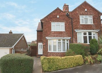 Thumbnail 3 bed semi-detached house for sale in Gretton Road, Mapperley, Nottingham