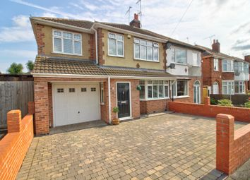 Thumbnail 4 bed semi-detached house for sale in Buckminster Road, Leicester