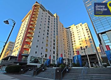 Thumbnail 1 bedroom flat for sale in Landmark Place, Churchill Way, Cardiff