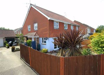 Thumbnail 2 bed semi-detached house for sale in Laurel Close, Worthing, West Sussex