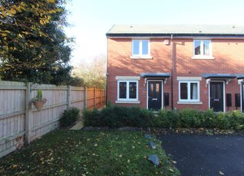 Thumbnail 2 bed town house for sale in Rookery Close, Sapcote, Leicester