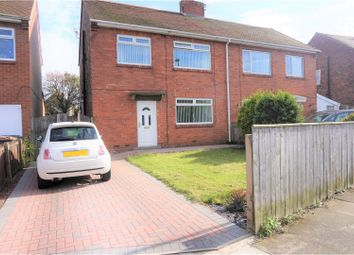 Thumbnail 3 bed semi-detached house for sale in Taylor Avenue, Newcastle Upon Tyne