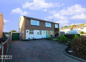 Thumbnail 3 bed semi-detached house for sale in Elmwood Avenue, Hockley, Essex