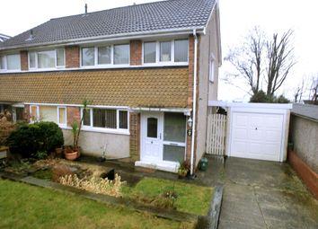 Thumbnail 4 bedroom semi-detached house for sale in Gwysfa Road, Ynystawe, Swansea.