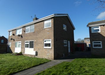 Thumbnail 1 bed flat for sale in Somerset Close, Ashington