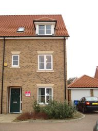 Thumbnail 4 bed property to rent in Cypress Close, Mildenhall, Bury St. Edmunds