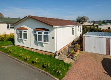 Thumbnail 2 bed mobile/park home for sale in 31 The Dell, Caerwnon Park, Builth Wells