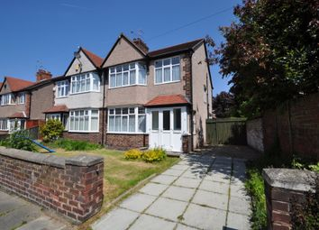 Thumbnail 3 bed semi-detached house for sale in Gerard Avenue, Wallasey