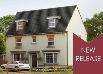 "Thumbnail 4 bedroom detached house for sale in ""Hertford"" at Harlestone Road, Northampton"