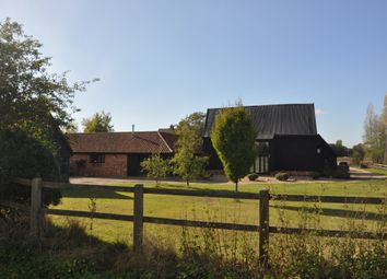 Thumbnail 5 bed barn conversion for sale in Kenton Road, Bedingfield, Eye