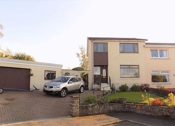 Thumbnail 3 bed semi-detached house for sale in Crawford Drive, Wallacestone, Falkirk