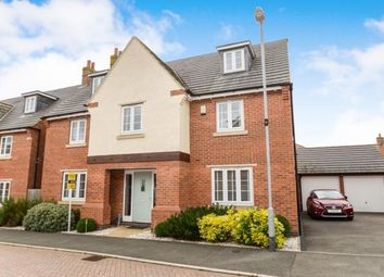 Thumbnail 5 bedroom detached house for sale in Finch Road, Kibworth Harcourt, Leicester, Leicestershire