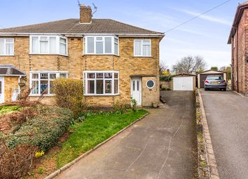 Thumbnail 3 bed semi-detached house for sale in Martin Close, Whitwick, Coalville