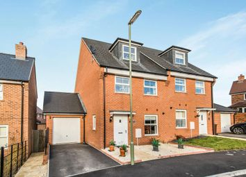 Thumbnail 3 bed semi-detached house to rent in Spindle Close, Andover Down, Andover