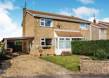 Thumbnail 2 bed semi-detached house for sale in Robin Kerkham Way, King's Lynn