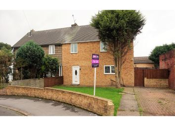 Thumbnail 3 bed semi-detached house for sale in Locksley Drive, Rotherham