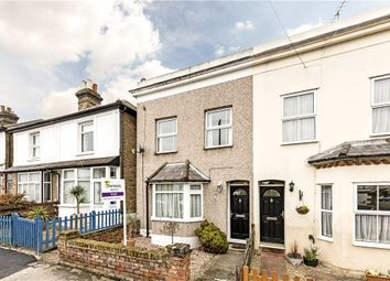 Thumbnail 2 bed end terrace house to rent in Chapel Park Road, Addlestone, Surrey