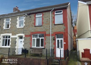 Thumbnail 3 bedroom end terrace house for sale in Kennard Terrace, Crumlin, Newport, Caerphilly