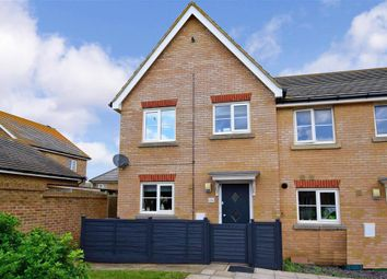 Thumbnail 3 bed end terrace house for sale in Flint Way, Peacehaven, East Sussex