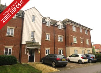 Thumbnail 1 bed flat to rent in Bridge Farm Close, Mildenhall, Bury St. Edmunds