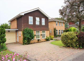 Thumbnail 4 bed detached house for sale in Bromford Close, Oxted