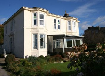 Thumbnail 2 bed flat for sale in Marine Parade, Millport, Isle Of Cumbrae