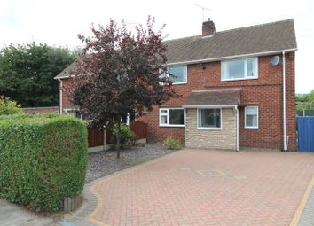 Thumbnail 2 bedroom semi-detached house for sale in Queensway, Worksop