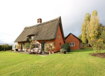 Thumbnail 5 bed country house for sale in Bulls Road, Hemingstone, Ipswich, Suffolk