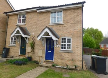 Thumbnail 2 bedroom semi-detached house to rent in Nightingale Close, Stowmarket