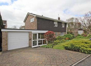 Thumbnail 4 bed detached house for sale in Hopton Close, Plymouth
