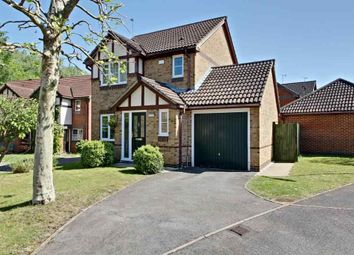 Thumbnail 3 bed detached house for sale in Lyndsey Close, Farnborough
