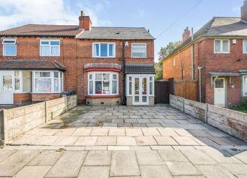 Thumbnail 3 bed semi-detached house for sale in Howard Road, Yardley, Birmingham, West Midlands