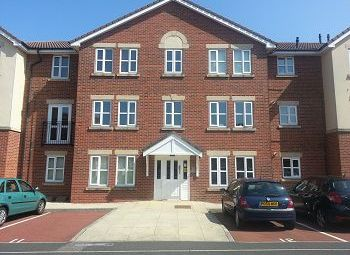 Thumbnail 2 bed flat to rent in Church Court, Ladybower Close, Upton