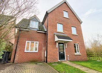 Thumbnail 4 bed town house for sale in Shrubland Close, Barham, Ipswich