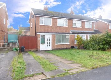 Thumbnail 3 bed semi-detached house for sale in Tamar Road, Oadby, Leicester