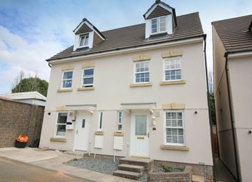 Thumbnail 3 bed semi-detached house for sale in Paddock Close, Pillmere, Saltash