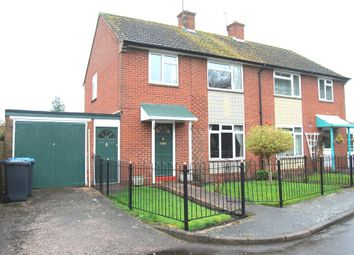 Thumbnail 3 bed semi-detached house to rent in Meadow Road, Alcester