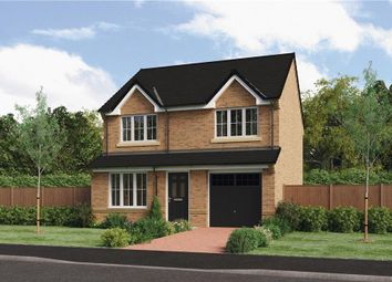 "Thumbnail 3 bedroom detached house for sale in ""The Larkin"" at Ladyburn Way, Hadston, Morpeth"