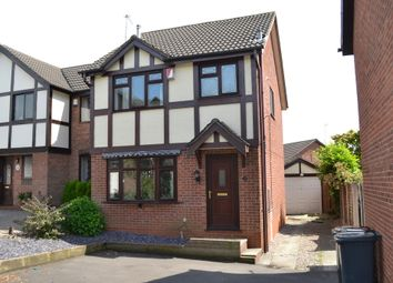 Thumbnail 3 bed detached house for sale in Thornham Close, Clayton, Newcastle-Under-Lyme