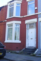 Thumbnail 4 bed terraced house to rent in Colebrook Road, Aigburth, Liverpool
