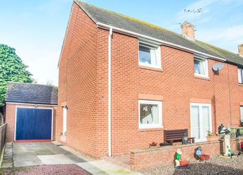 Thumbnail 3 bed semi-detached house for sale in St. Cuthberts Avenue, Amble, Morpeth