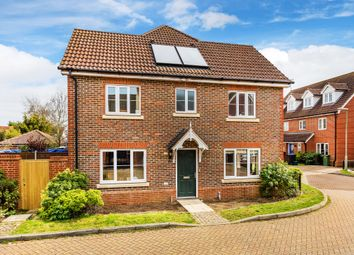 Thumbnail 3 bed semi-detached house for sale in Knights Mead, Lingfield