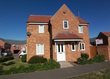 Thumbnail 3 bed detached house to rent in Hudson Way, Grantham