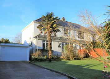 Thumbnail 4 bed semi-detached house for sale in Oakland Parc, Kergilliack Road, Falmouth