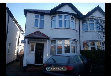 Thumbnail 3 bed semi-detached house to rent in Wellington Avenue, Worcester Park
