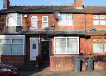 Thumbnail 3 bed terraced house for sale in Grasmere Road, Handsworth, Birmingham