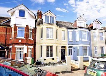 Thumbnail 3 bed terraced house for sale in Morehall Avenue, Folkestone, Kent