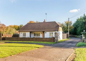 Thumbnail 3 bedroom detached bungalow for sale in Stroude Road, Egham, Surrey