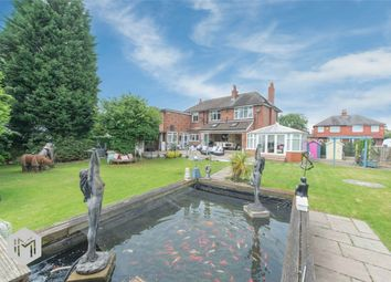 Thumbnail 4 bed detached house for sale in Springfield Lane, Irlam, Manchester