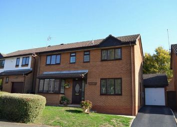 Thumbnail 4 bed detached house for sale in Tideswell Close, West Hunsbury, Northampton